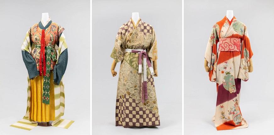 Women's Kimono Exhibition in Tokyo