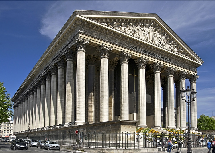 Get to Know la Madeleine, The Paris Church Dedicated to Mary Magdalene