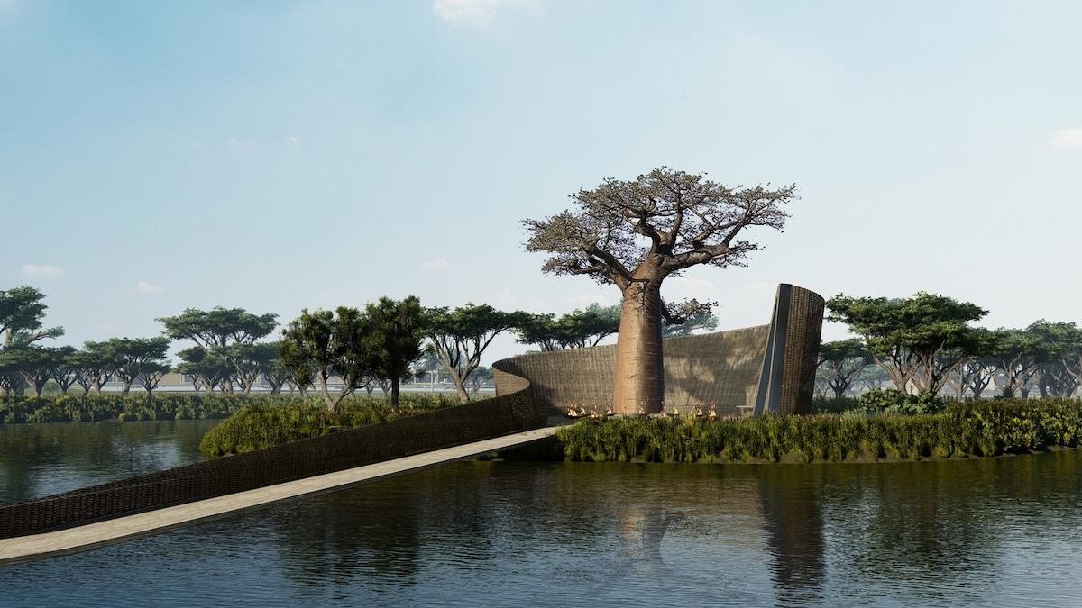La Reserve by SAOTA winds around a baobab tree