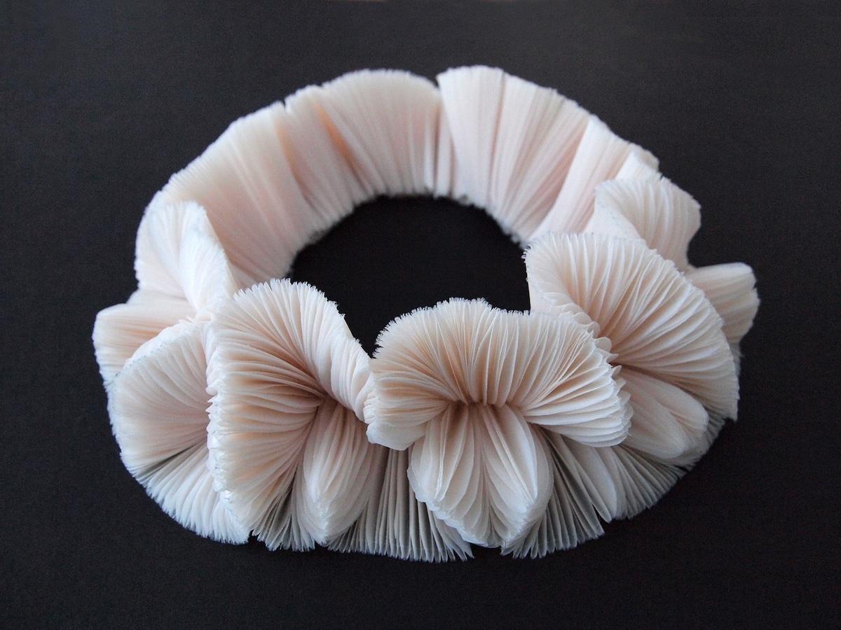 Ocean-Inspired Textile Sculptures by Mariko Kusumoto