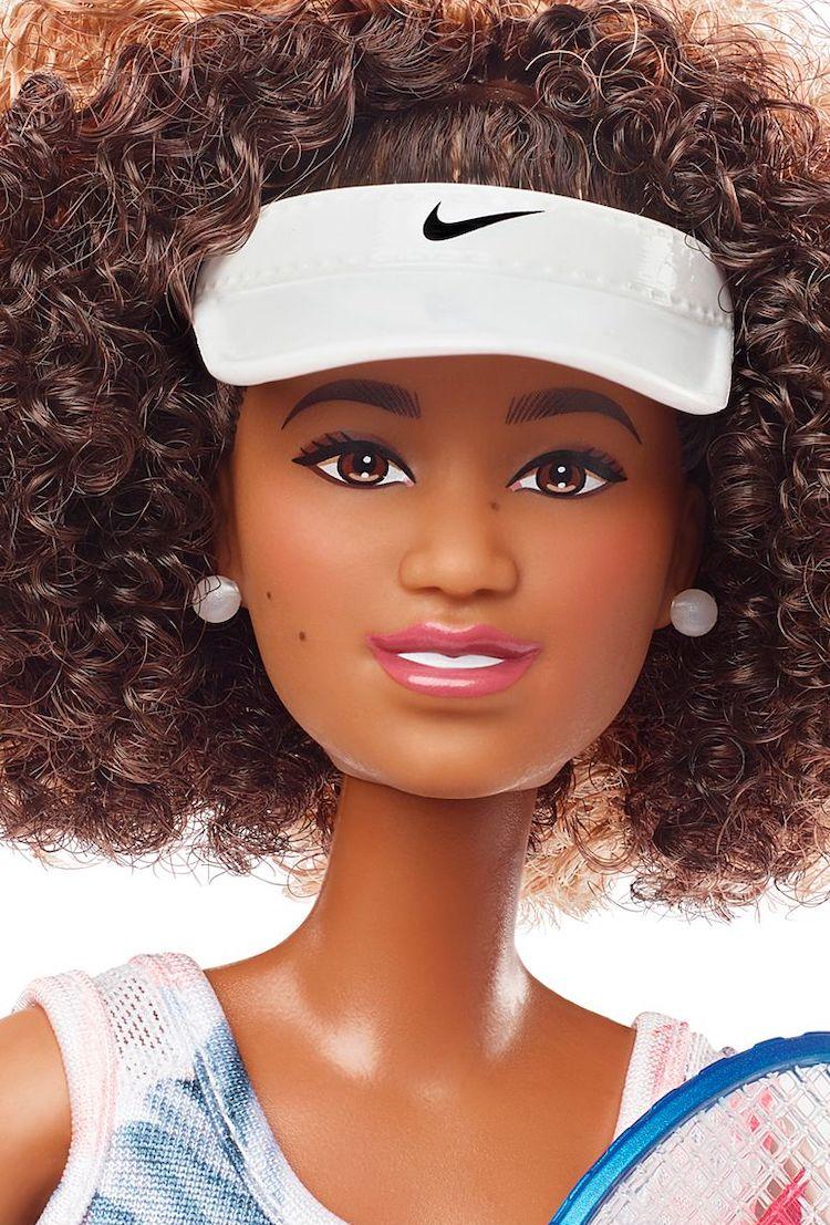 Barbie de la tenista Naomi Osaka