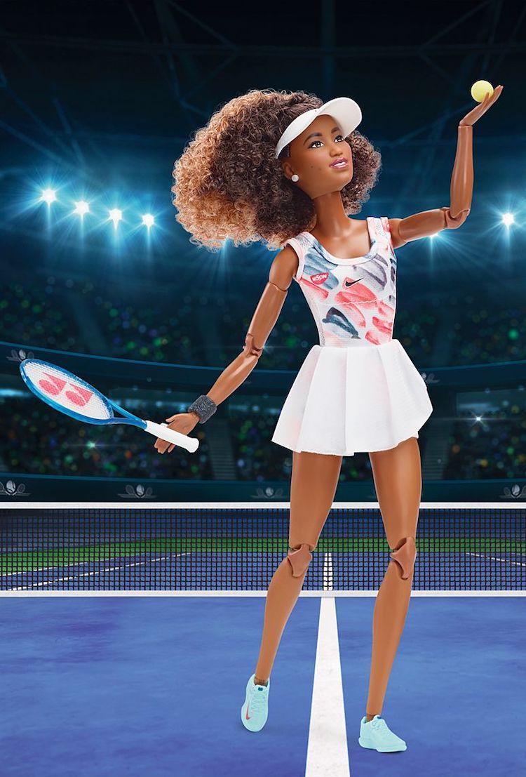 Barbie de Naomi Osaka de Mattel
