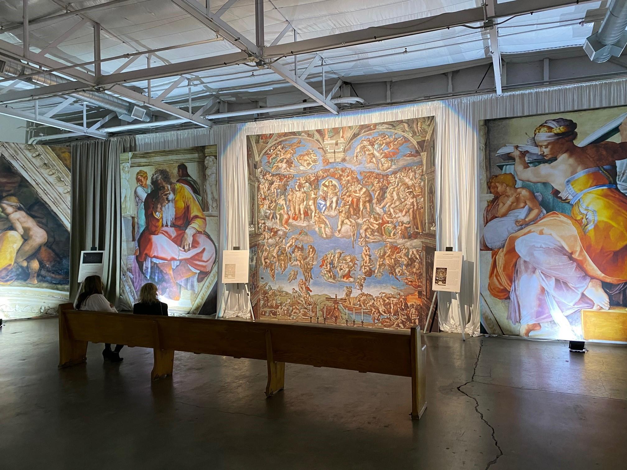 exposition La Chapelle Sixtine à San Antonio