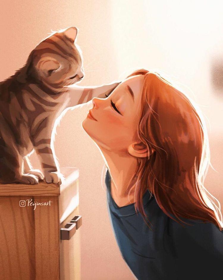 Illustrations by Peijin Yang