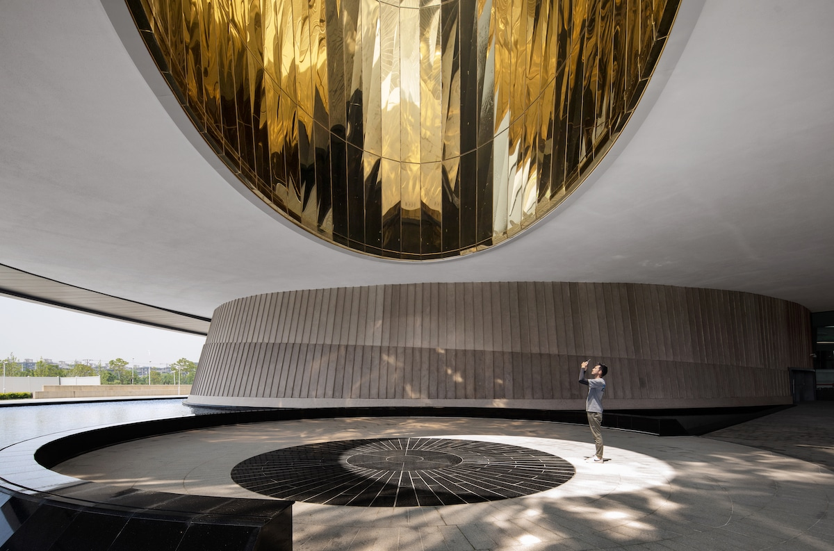 Sphere in the Shanghai Astronomy Museum by Ennead Architects, Captured by Arch-Exist