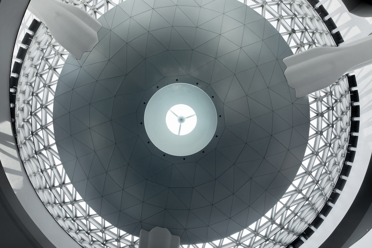 Interior Detail in the Shanghai Astronomy Museum by Ennead Architects, Captured by Arch-Exist
