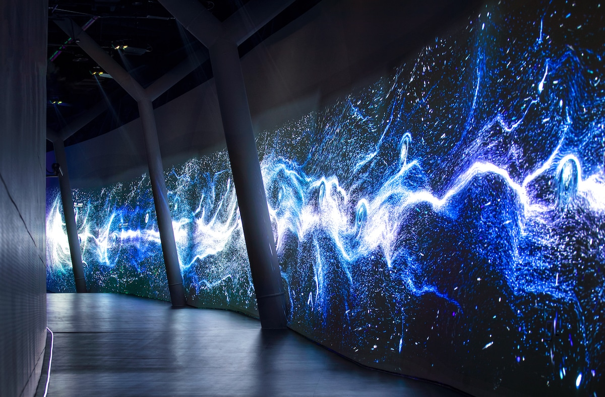 Interior Exhibit of the Shanghai Astronomy Museum by Ennead Architects, Captured by Arch-Exist