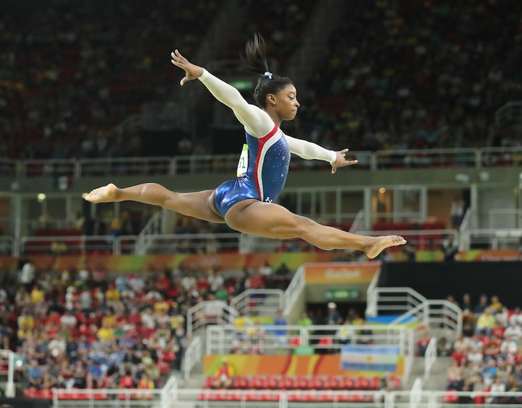 Simone Biles Competing
