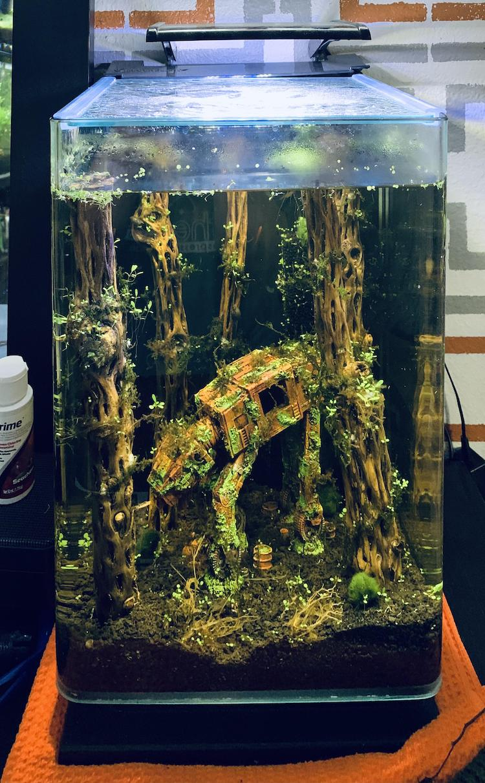 Star Wars Fish Tank