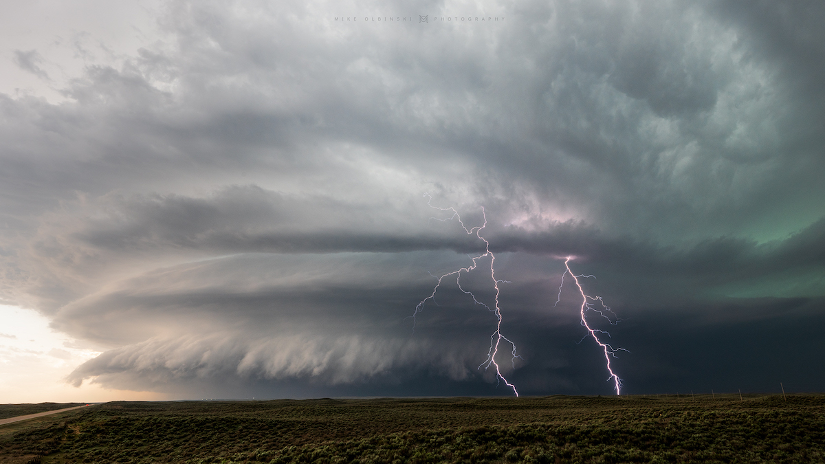 Supercell by Mike Oblinksi
