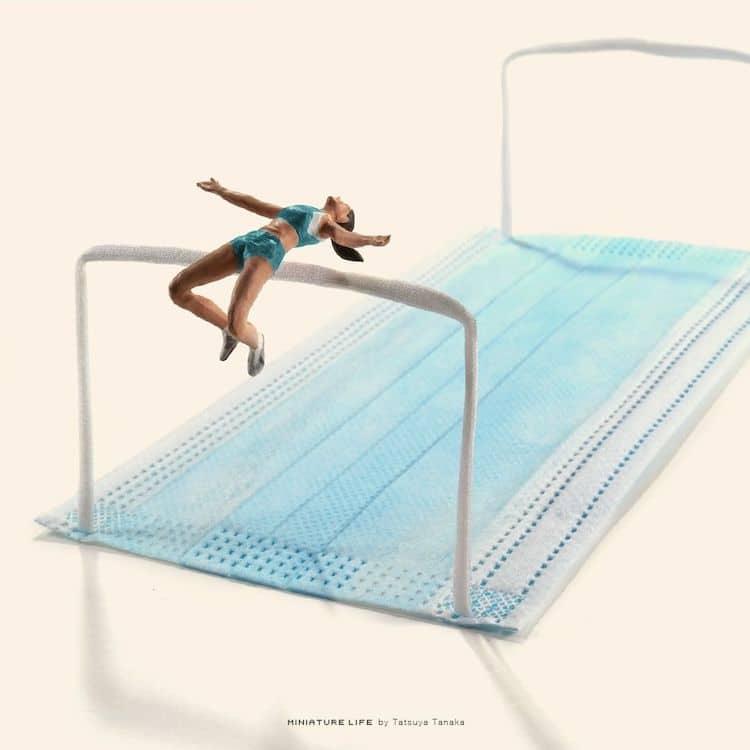 Miniatures des Jeux Olympiques de Tokyo 2020 Tatsuya Tanaka