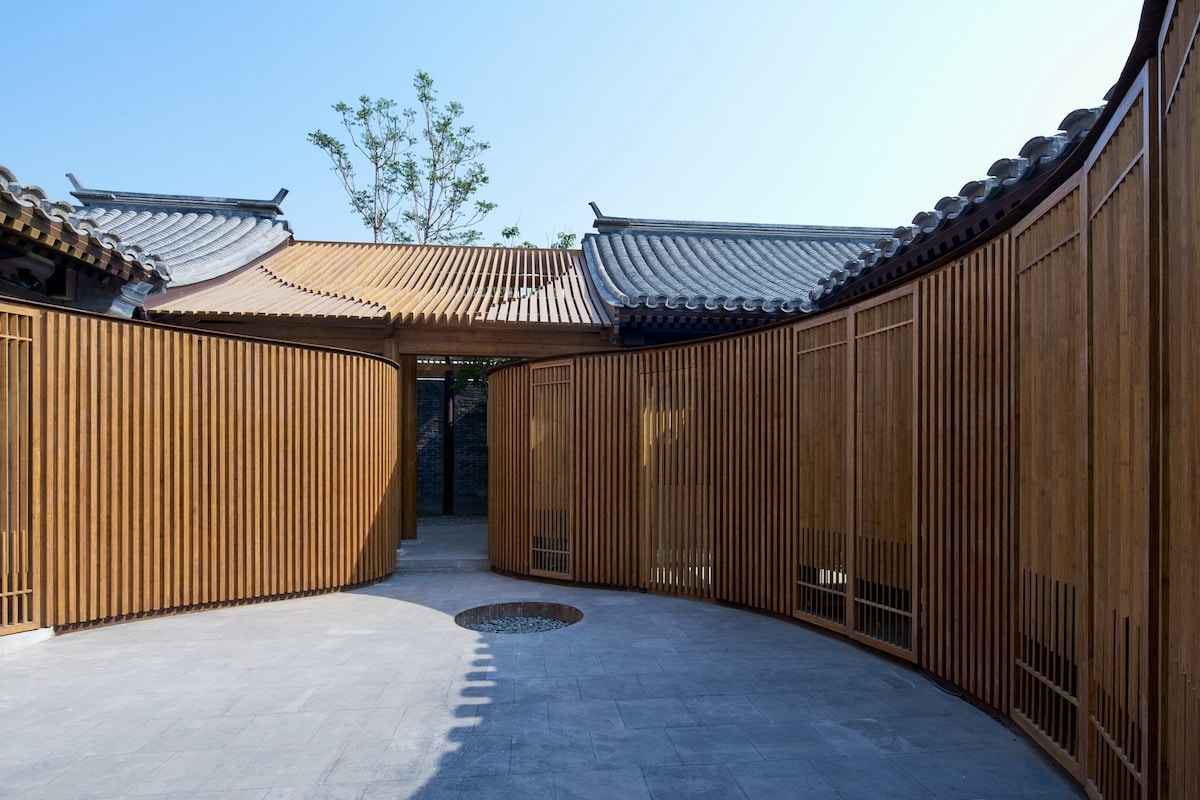 Courtyard of the Renovated Traditional Hutong completed by Urbanus