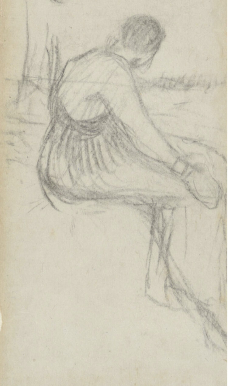 Early Sketches by Van Gogh