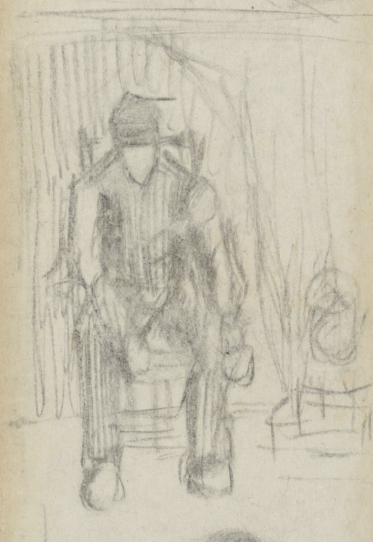 Peasant Illustrated by Van Gogh