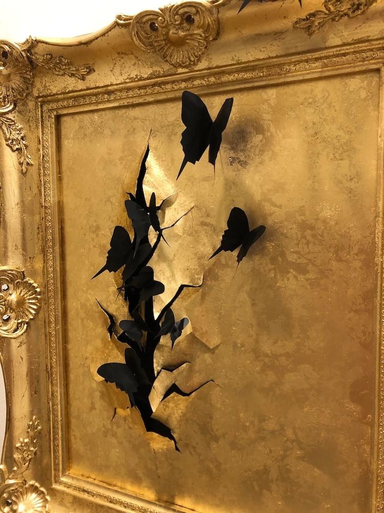 Vincent Salvo Metal Sculpture Butterfly Wall Art