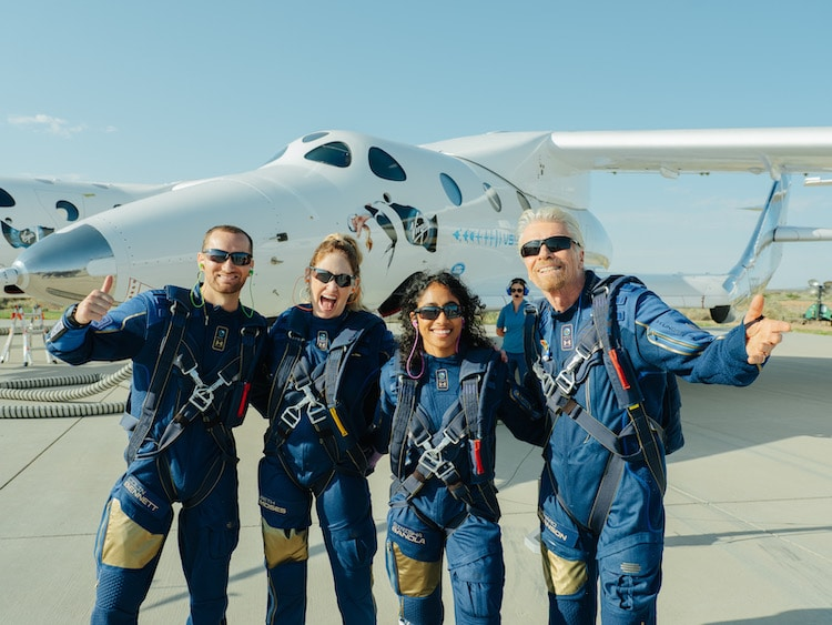 Virgin Galactic Crew After First Space Flight