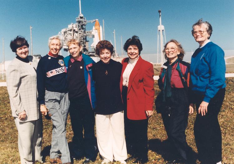 Wally Funk With Mercury 13 Women Astronaut Trainees