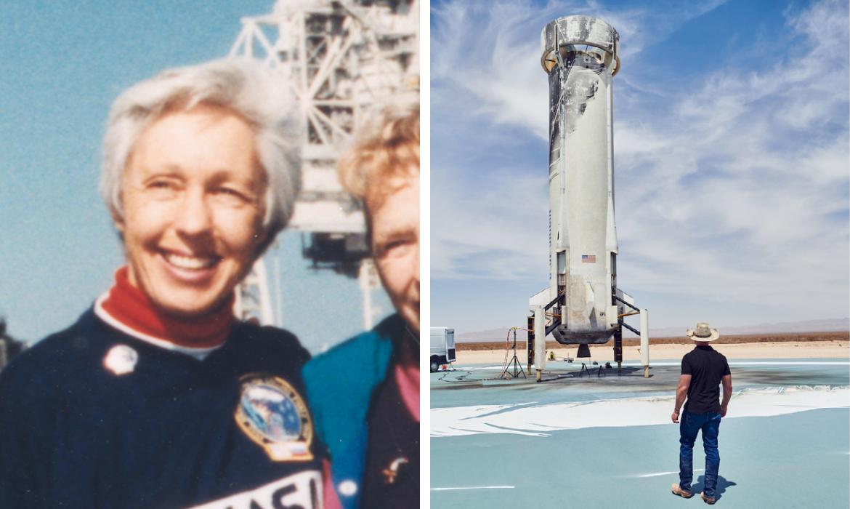 Wally Funk Joins Jeff Bezos on Blue Origin Launch