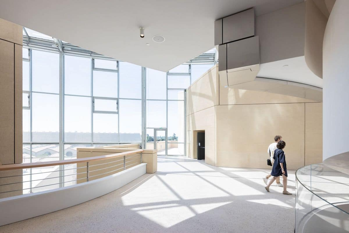Interior View of Frank Gehry's Luma Arles Tower Captured by Photographer Iwan Baan