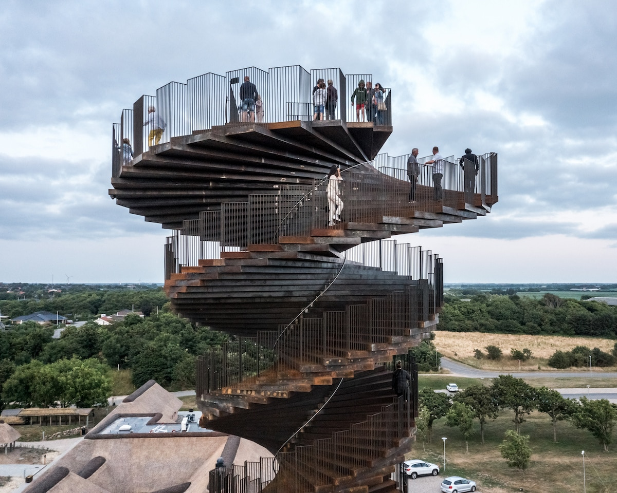 Marsk Tower par Bjarke Ingels Group (BIG)
