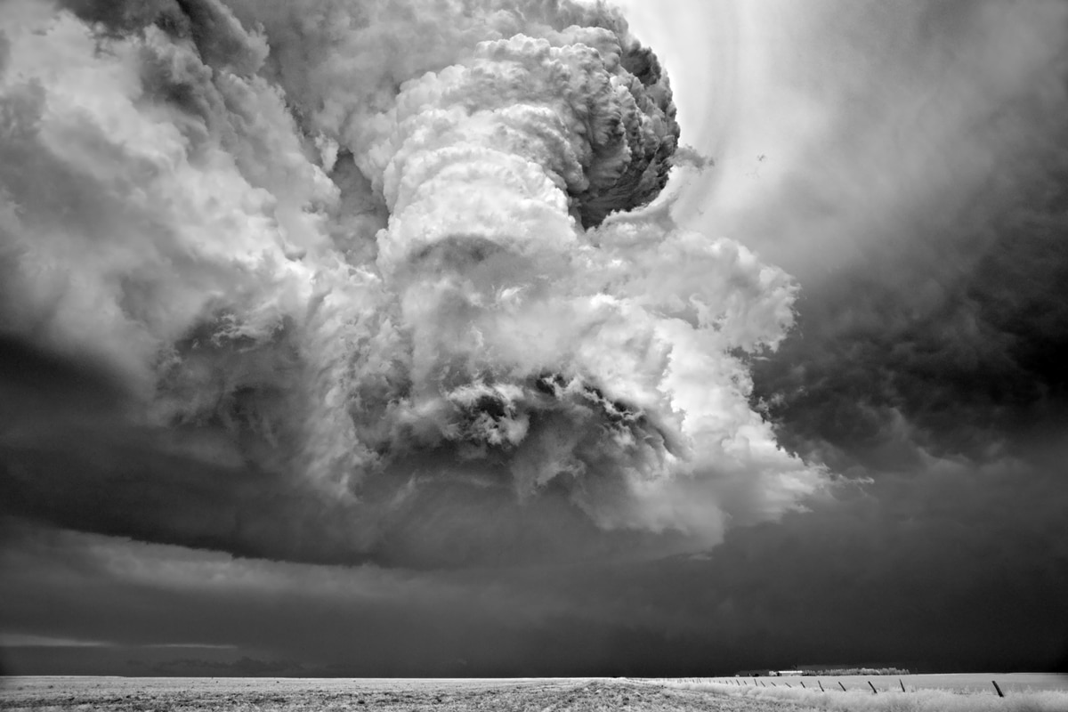 Black and White Landscape Photography by Mitch Dobrowner
