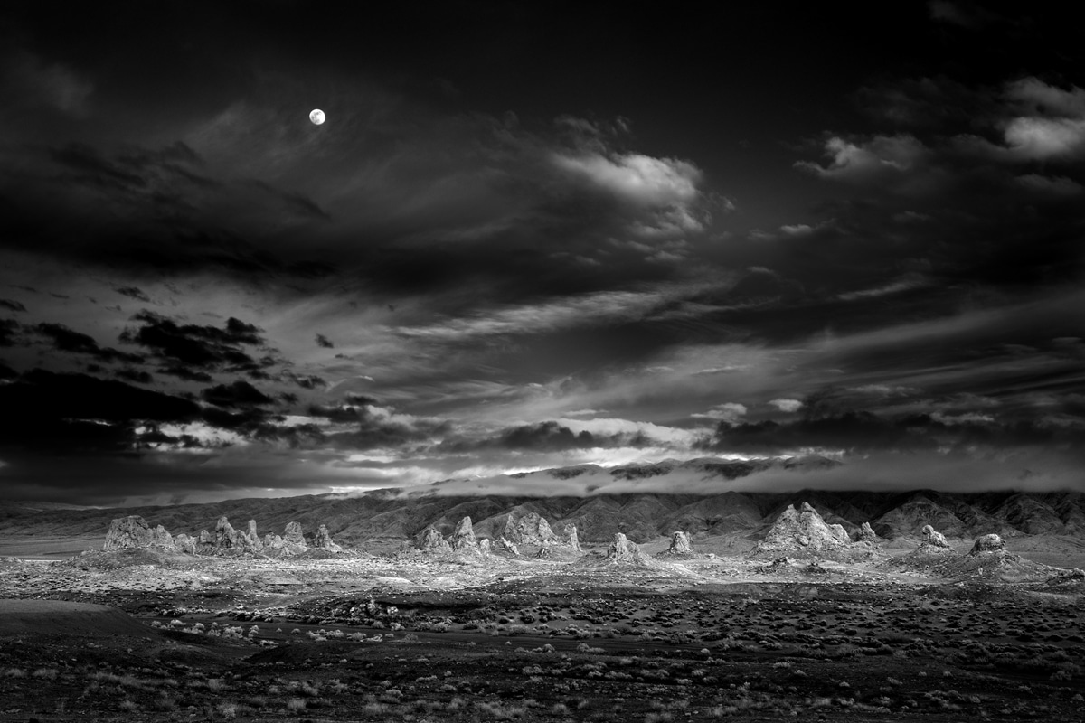 Black and White Landscape Photo by Mitch Dobrowner