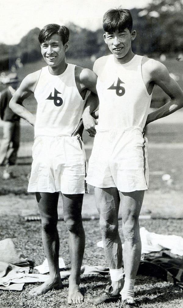 Sueno Oe and Shuhei Nishida in 1930