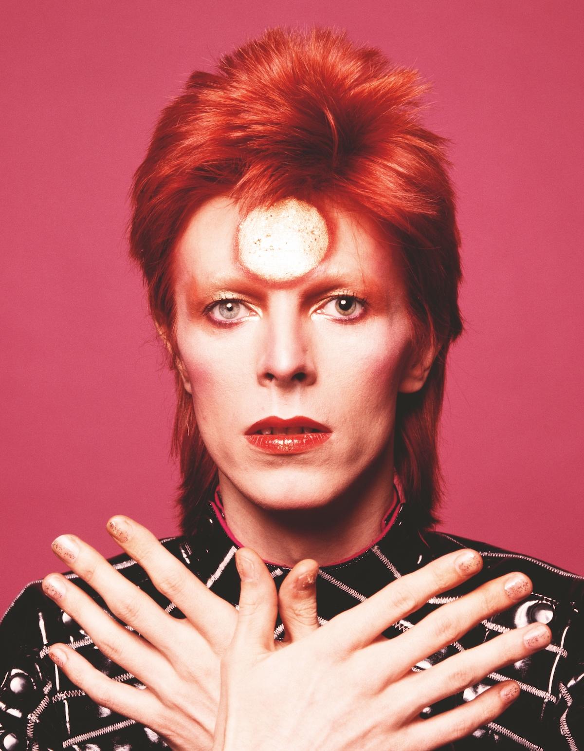 David Bowie Portrait by Sukita