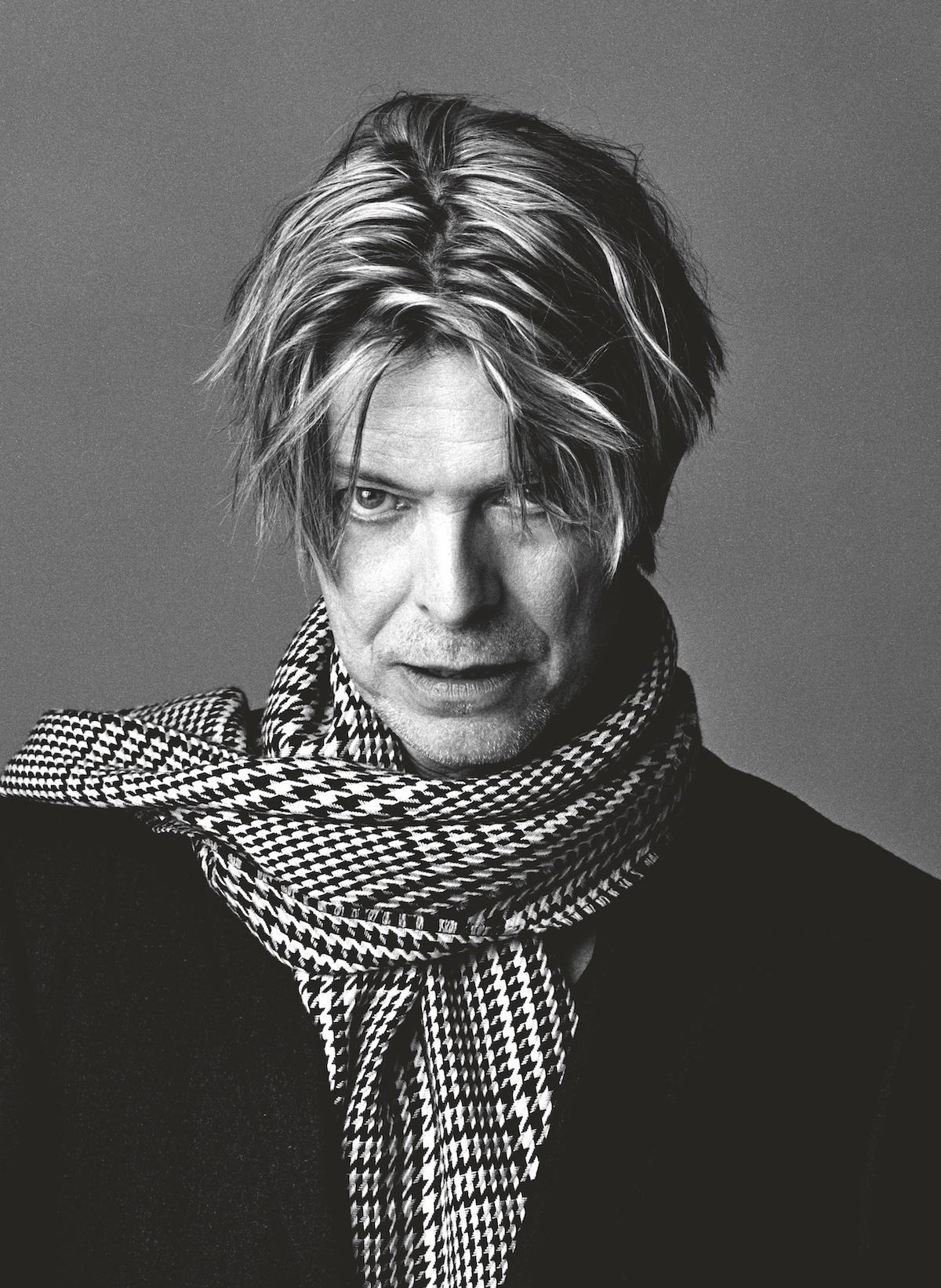 Sukita Portrait of David Bowie in 2002