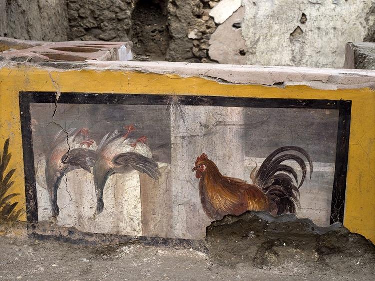 Fresco at Pompeii