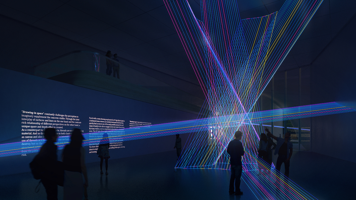 Exhibition Proposal in Chungnam Art Museum by UNStudio and DA Group
