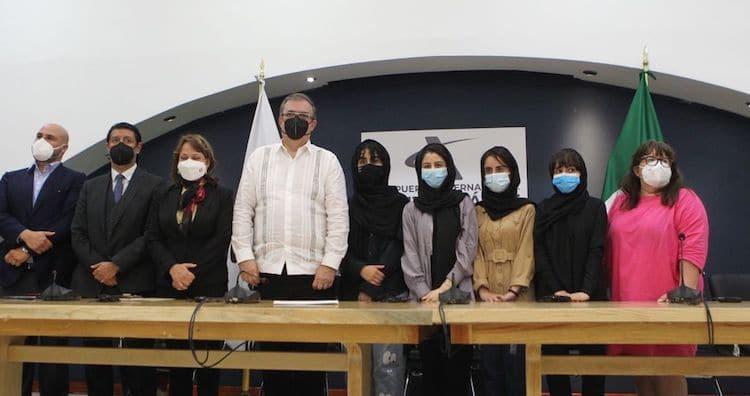 Arrivée des Afghan Dreamers au Mexique