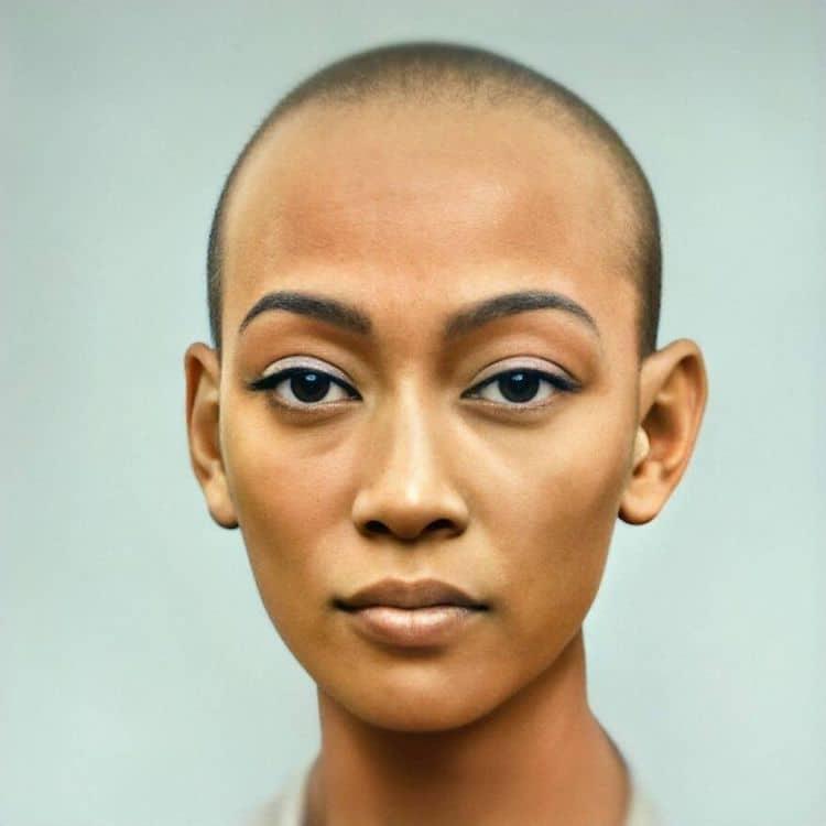 Portrait de Nefertiti utilisant l'intelligence artificielle