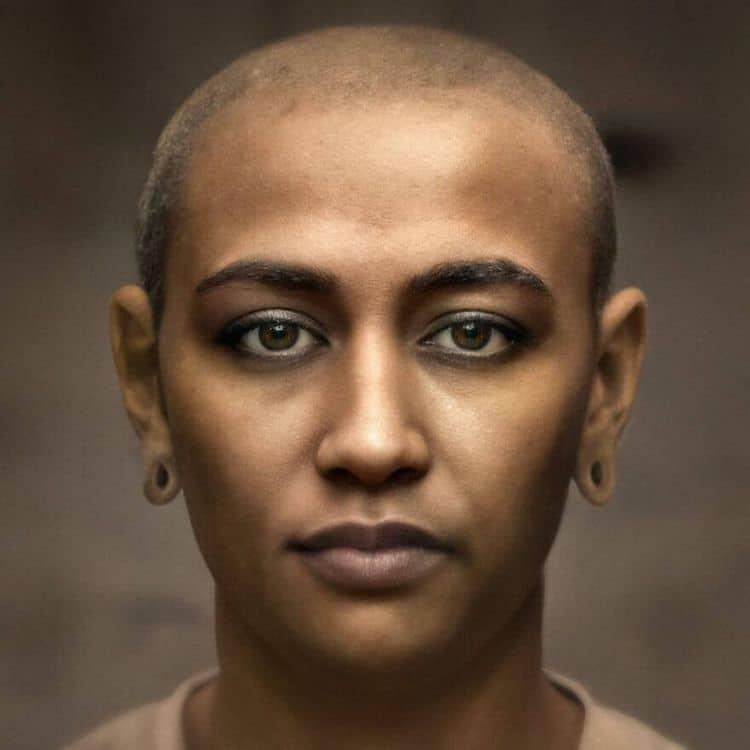 portrait utilisant l'intelligence Artificielle par Bas Uterwijk