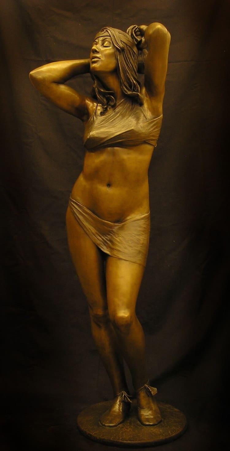 Life Size Sculpture of Bathsheba by Benjamin Victor
