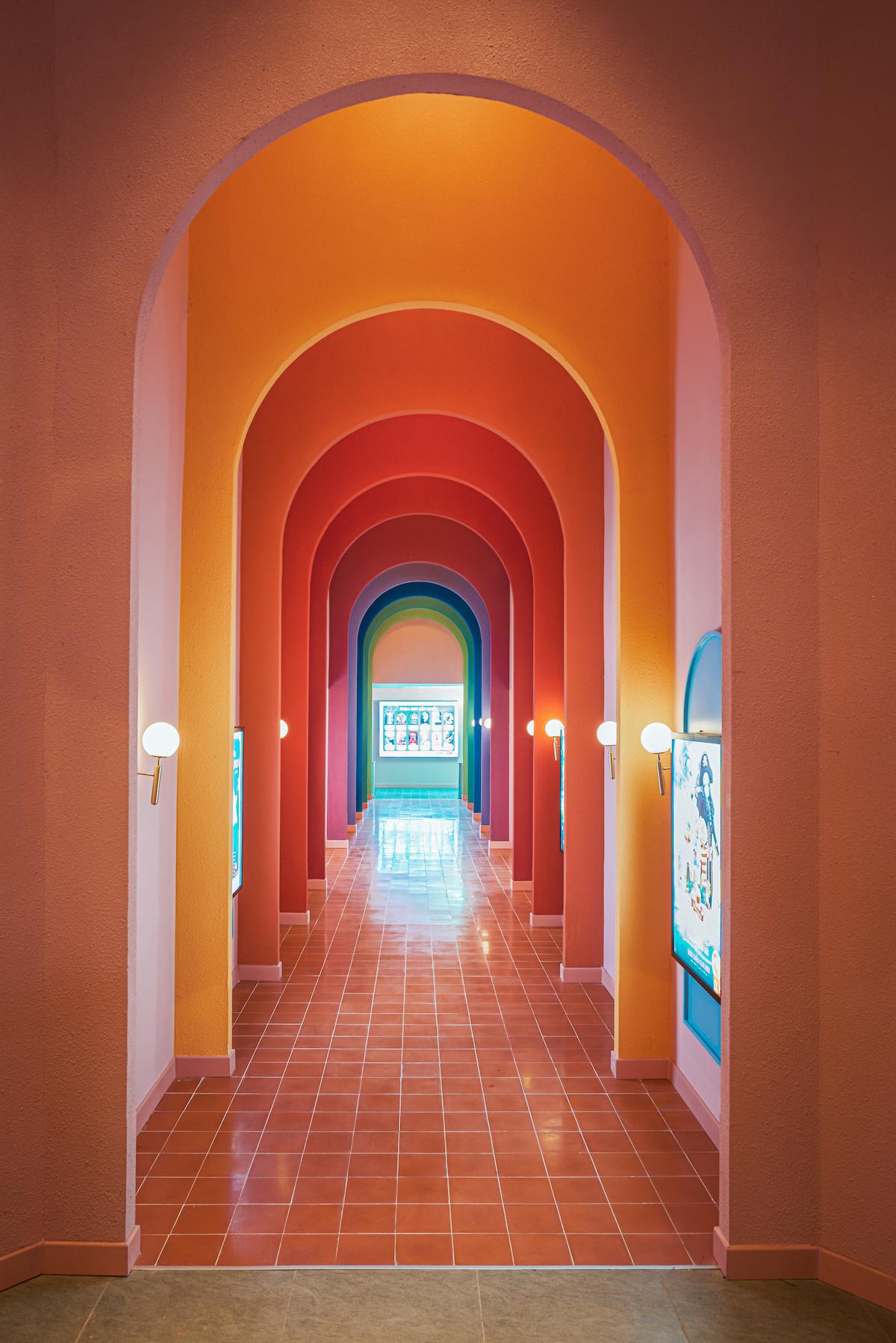 Corridor of Beta Cinema by Module K