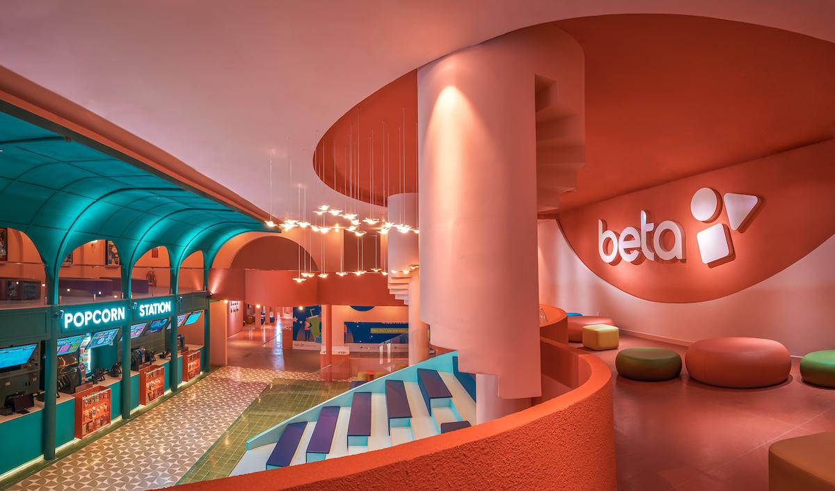 Ground Floor of Beta Cinema by Module K