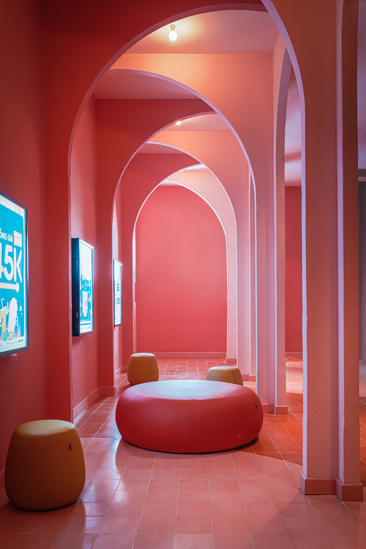 Detail in the Colorful Beta Cinema by Module K