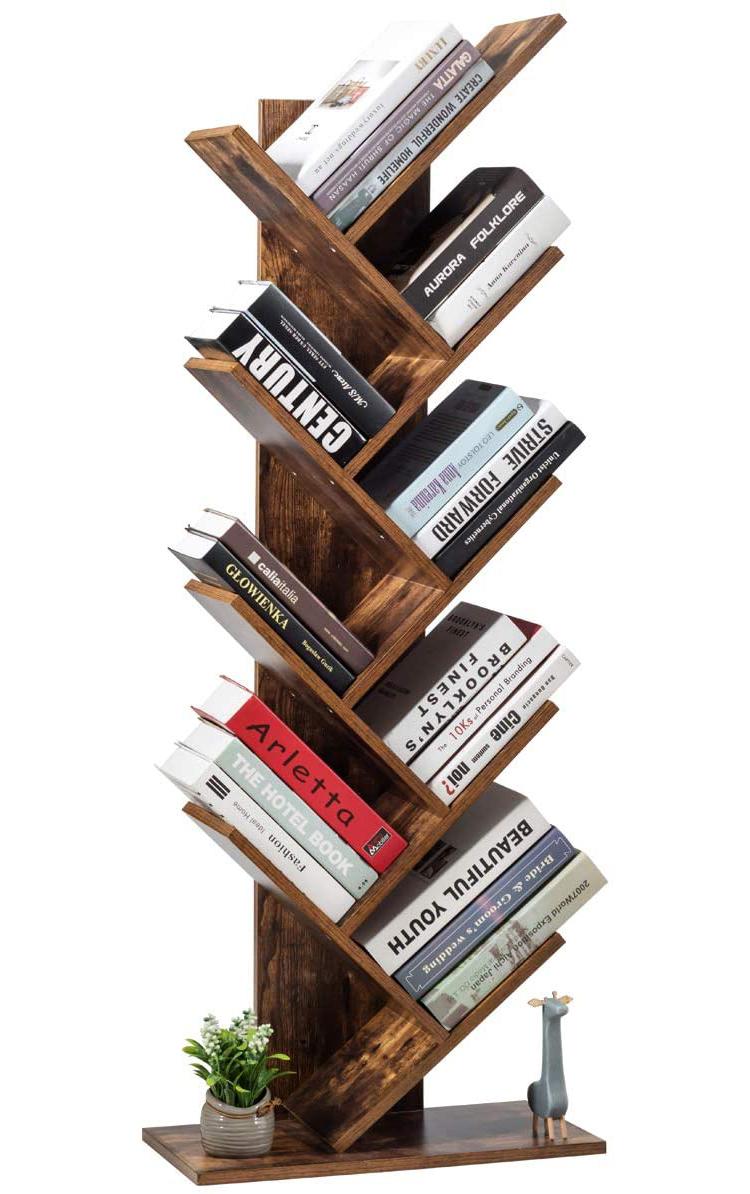 Tree Bookshelf Display Stand