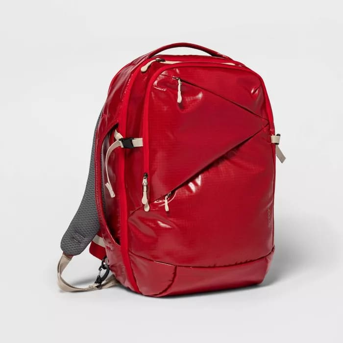 Red Adventure Travel Backpack