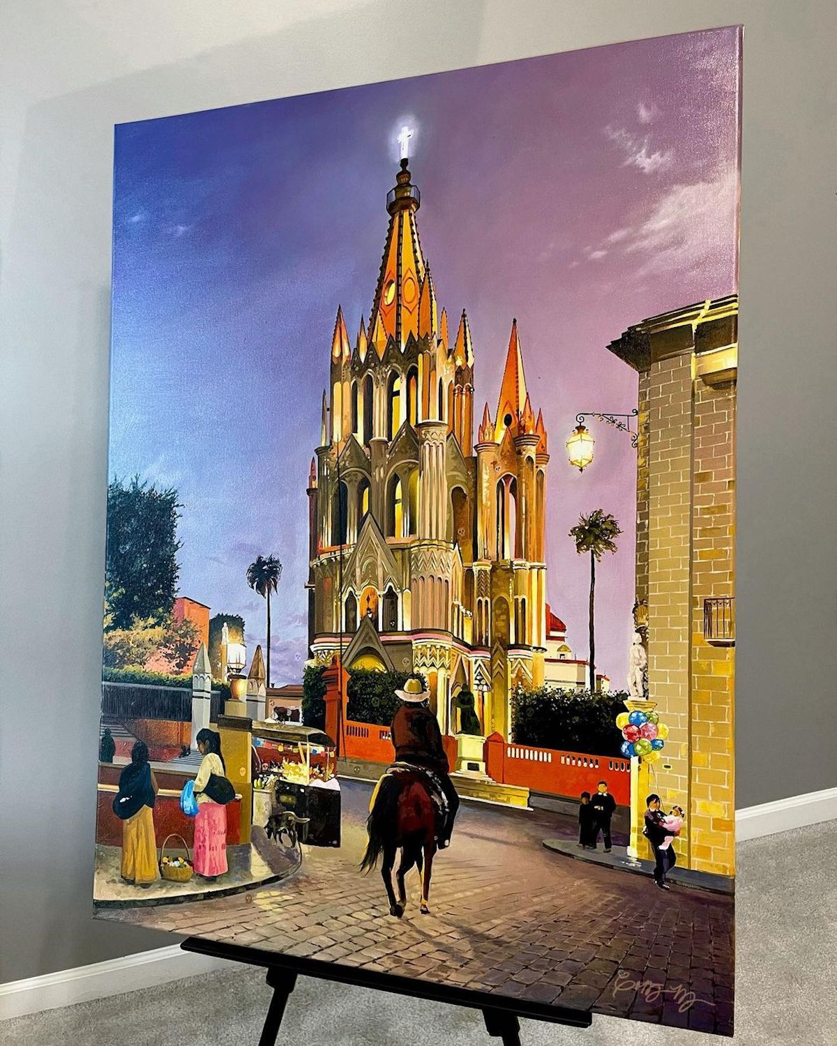 Oil Painting of Mexico by Courtney Myers