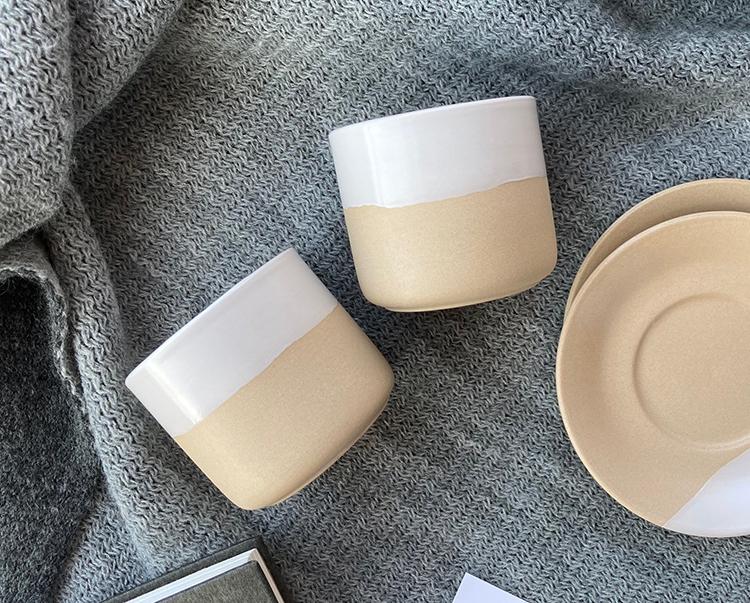Espresso Clay Pottery Cups