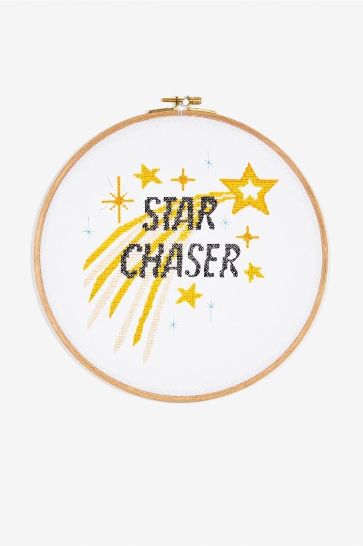 Star Chaser cross stitch pattern