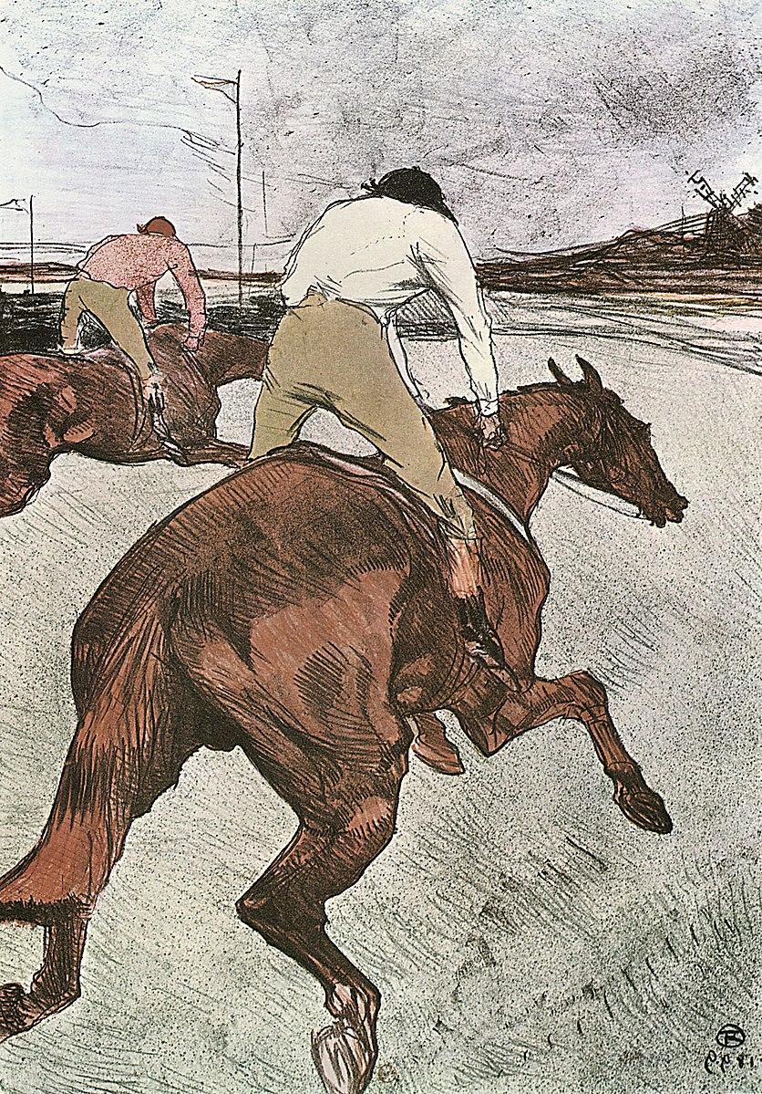 Drawing by Henri de Toulouse-Lautrec