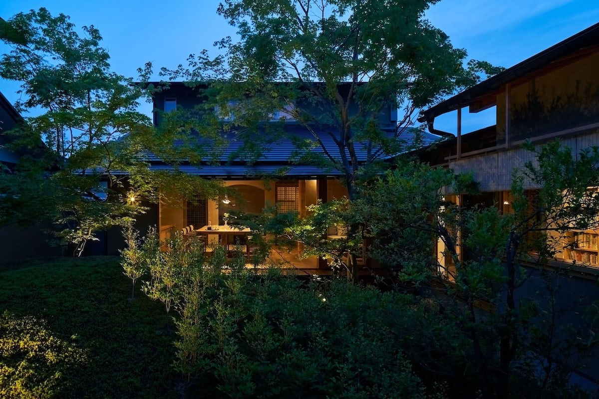 Exterior of the House of the Sacred Rock by Hiroshi Nakamura & NAP in Kyoto, Japan