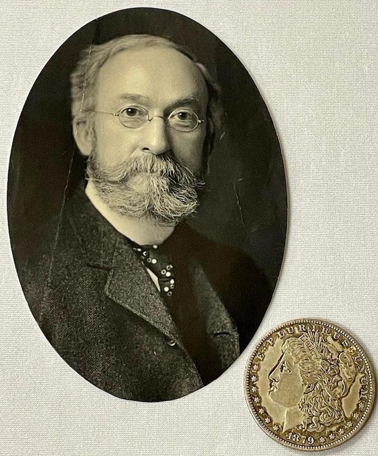 James E. Hale Self-Portrait from circa 1900