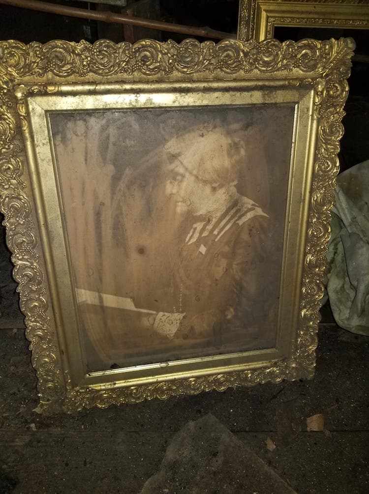 Susan B. Anthony Portrait Found in Attic