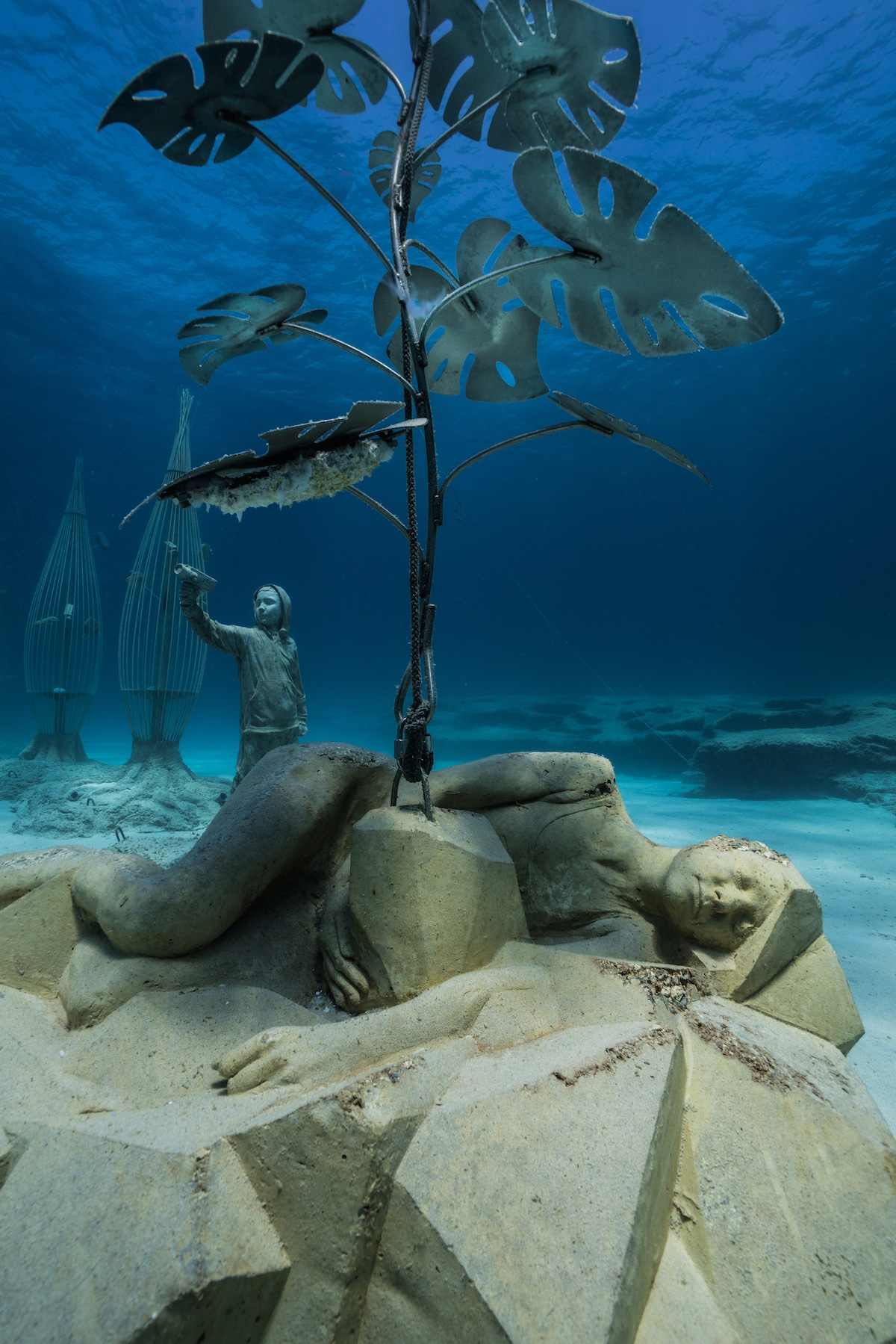 Jason deCaires Taylor, MUSAN, the first underwater museum in the Mediterranean