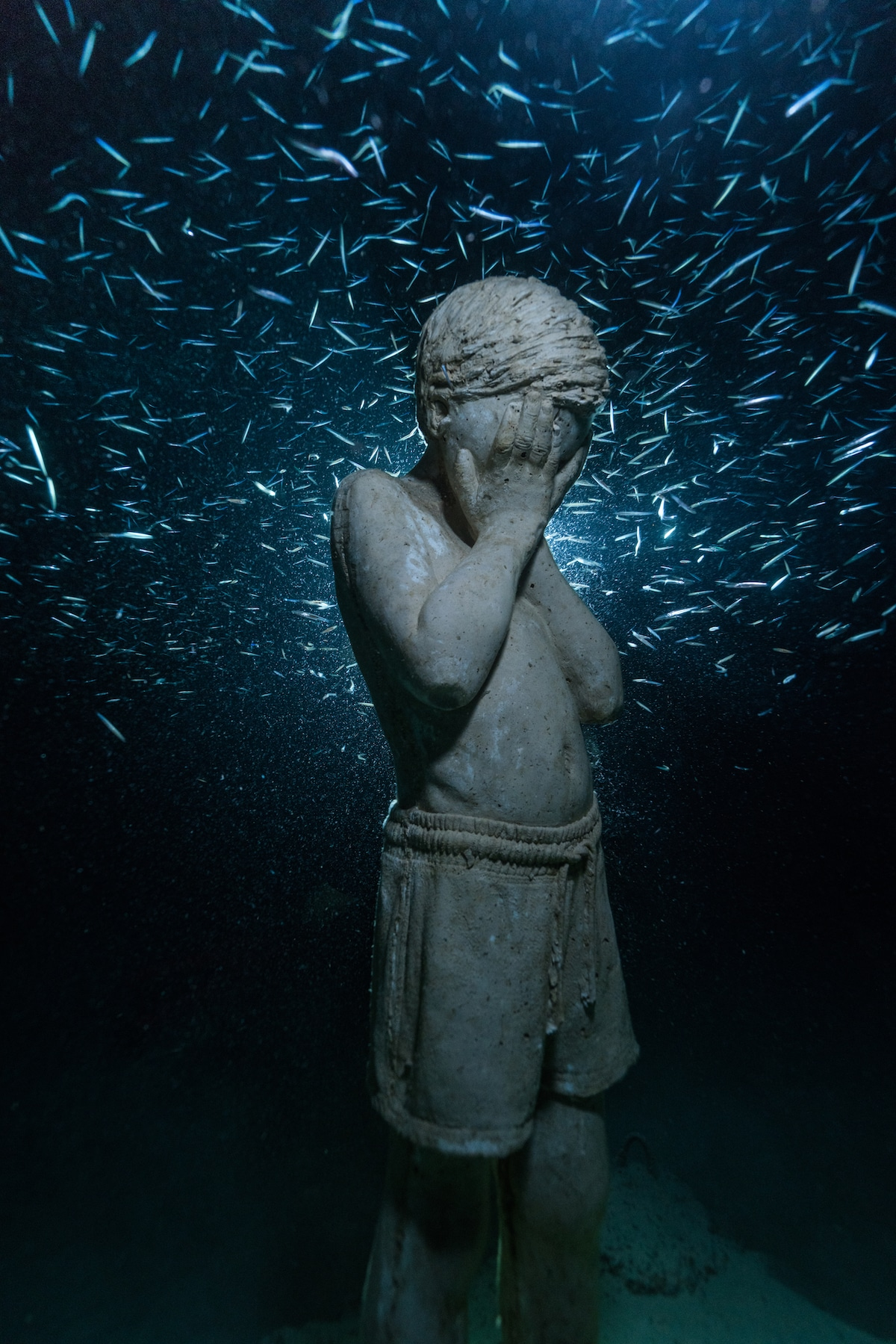 MUSAN, the first underwater museum in the Mediterranean in Cyprus by Jason deCaires Taylor