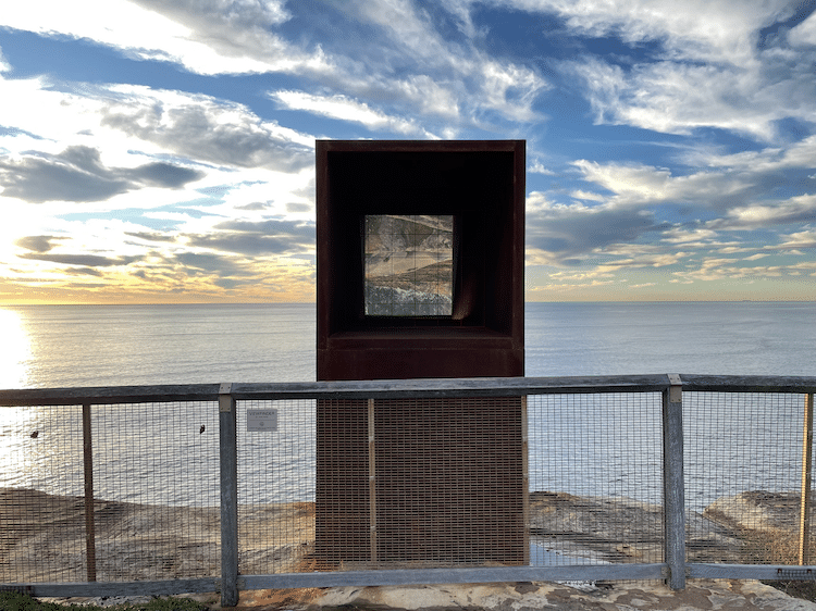 Periscope-Like Sculpture Reflects Ocean View